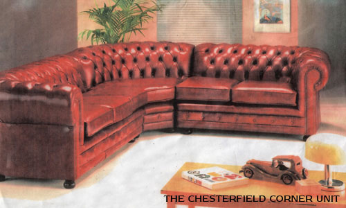 chesterfield corner suite