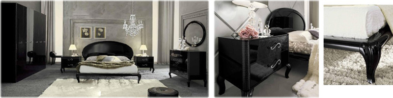 Black-Italian-bedroom-set