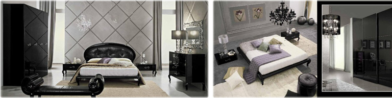 black-Italian-bedroom-furniture