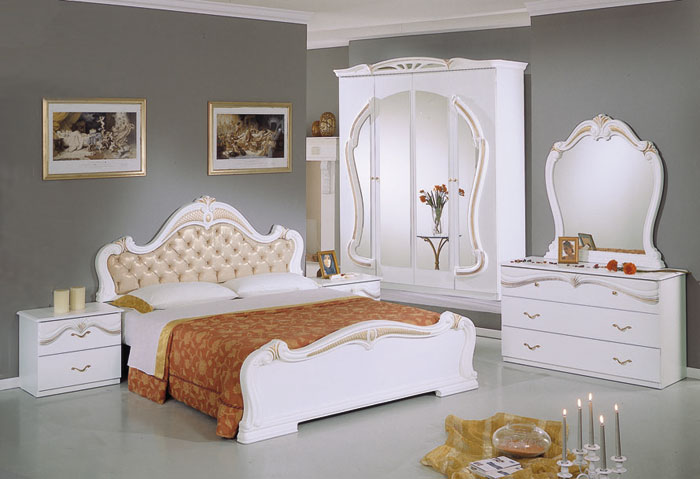 the new julia italian bedroom set and suite is available in 4 or 6