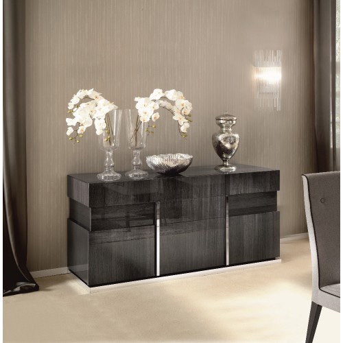 Carlos Grey Koto 3 Door Sideboard